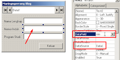 Cara Mudah Buat Database Access untuk Visual Basic 6.0