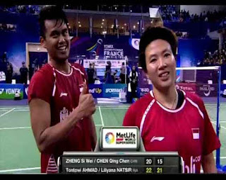 Owi/Butet Juara France Open 2017