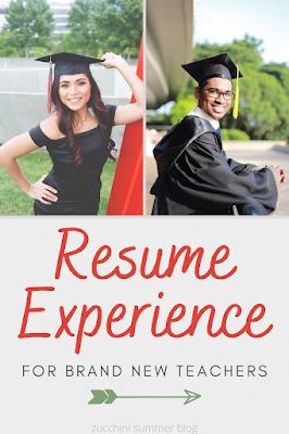 How to write a resume as a brand new teacher