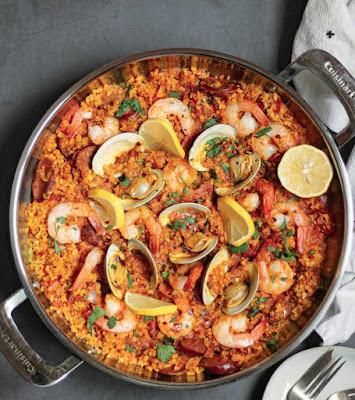 Sizzling Seafood Paella Recipe