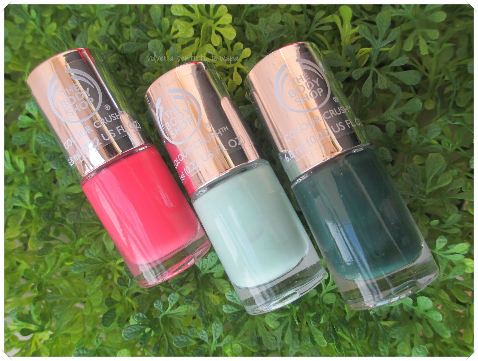 COLOR CRUSH, los esmaltes de THE BODY SHOP