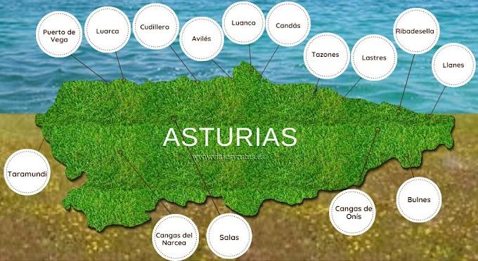 Los 15 pueblos más bonitos de Asturias
