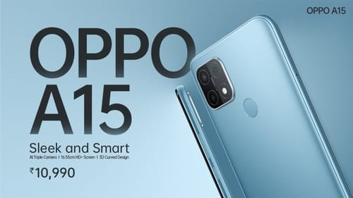 Oppo announces its latest Oppo A15 phones