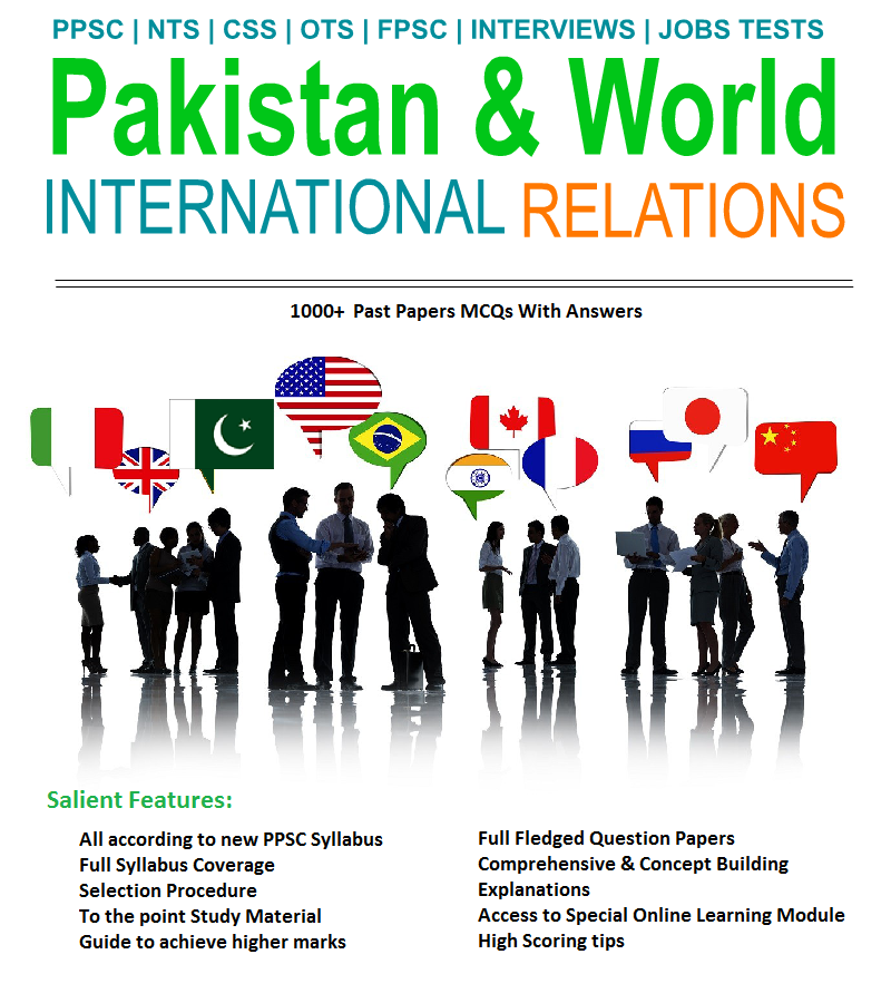 Pakistan And World International Relations MCQs PDF Book