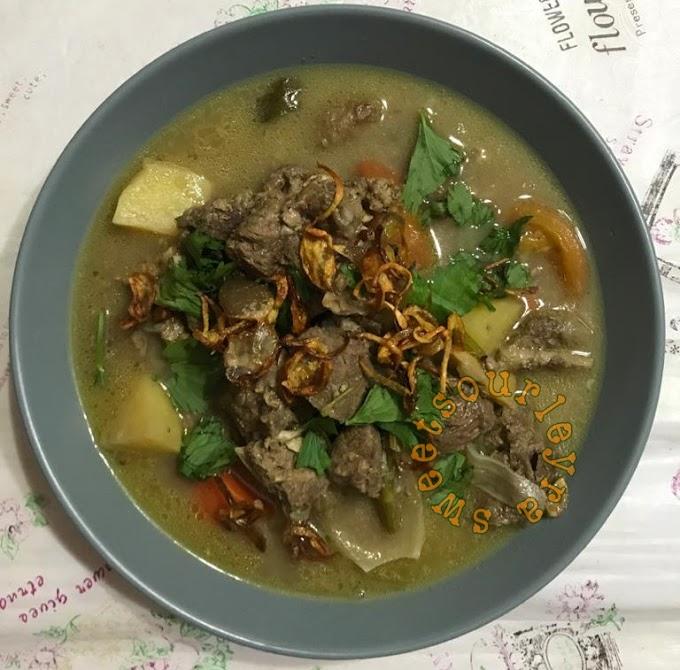 Resepi Sup Kambing Berempah Sangat Mudah Dan Sedap Memikat