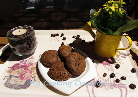 "Безглутенови бисквити ""Кафено зърно"" * Biscotti al caffè friabili"