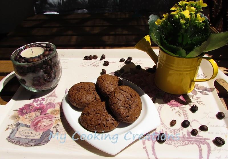 Безглутенови бисквити Кафено зърно * Biscotti al caffè friabili