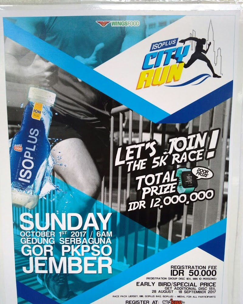 Isoplus City Run - Jember • 2017