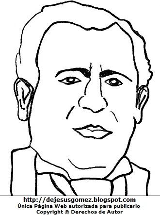 Dibujo de Sebastián Barranca para colorear, pintar e imprimir. Dibujo de Sebastián Barranca hecho por Jesus Gómez