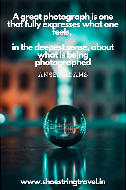 Photography Quotes by Ansel Adams #PhotographyQuotes #Photography #Quotes