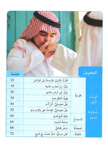 كتاب الطالب في اللغة العربية للصف الثامن الفصل الاول 2019-2020