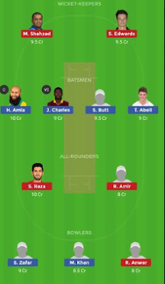 HEA vs FAL Dream11 team | Qatar T10 2019