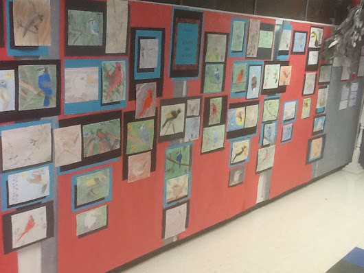 Valley View Elementary celebrates Youth Art Month with Artwork Display