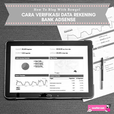 verifikasi bank adsense