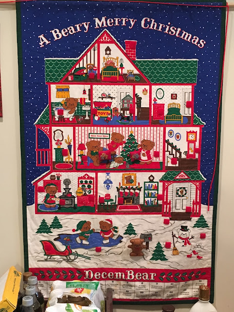 susan 39 s quilt creations clue 5 and a beary merry. Black Bedroom Furniture Sets. Home Design Ideas