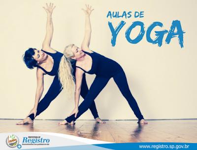 Secretaria de Esportes abre inscrições para novas turmas de Yoga em Registro-SP