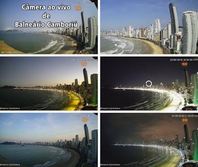 Câmera ao vivo de Balneário Camboriú