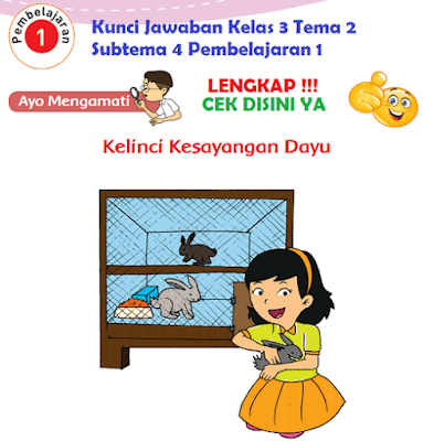 Kunci Jawaban Kelas 3 Tema 2 Subtema 4 Pembelajaran 1 www.simplenews.me