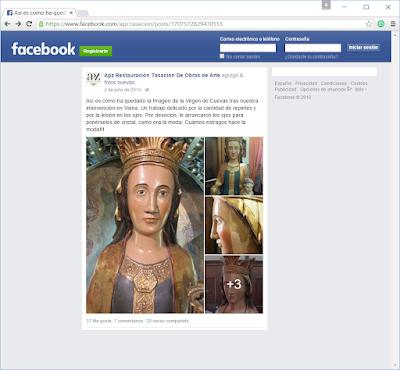 facebook APZ  Restauración Tasación De Obras de Arte
