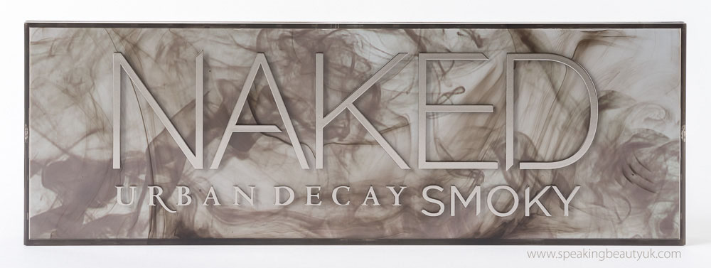 Urban Decay Naked Smoky Palette - packaging