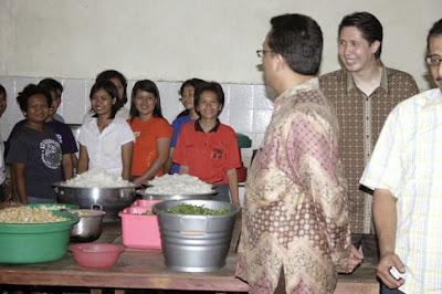 Kunjungan Kepala BNP2TKI Moh Jumhur Hidayat ke PT Prima Duta Sejati