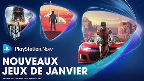 Les nouveautés de janvier 2021 sur PlayStation Now