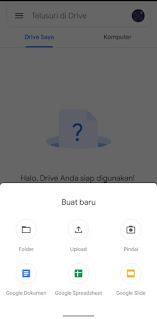 Cara Menyimpan File Di Google Drive Lewat Android