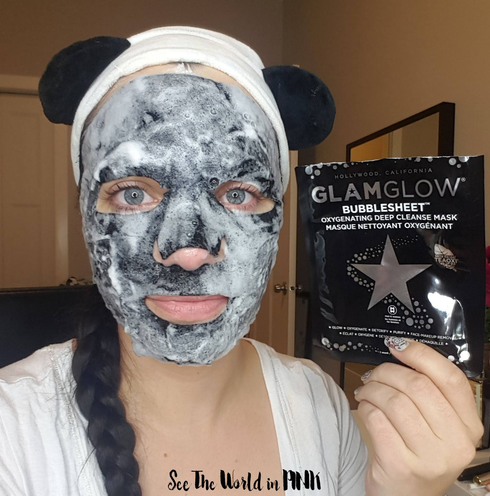 Skincare Sunday - GlamGlow BubbleSheet Oxygenated Deep Cleanse Mask