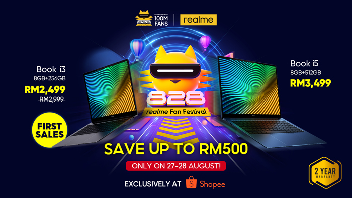 realme Malaysia Officially Launched its First realme Book