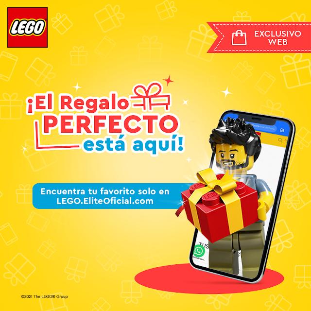 El regalo perfecto: LEGO lanza campaña exclusiva por su web
