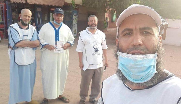 بؤرة البيجيدي بمراكش تُسجل 4 مصابين بكورونا بسبب تجاهل الكمامات