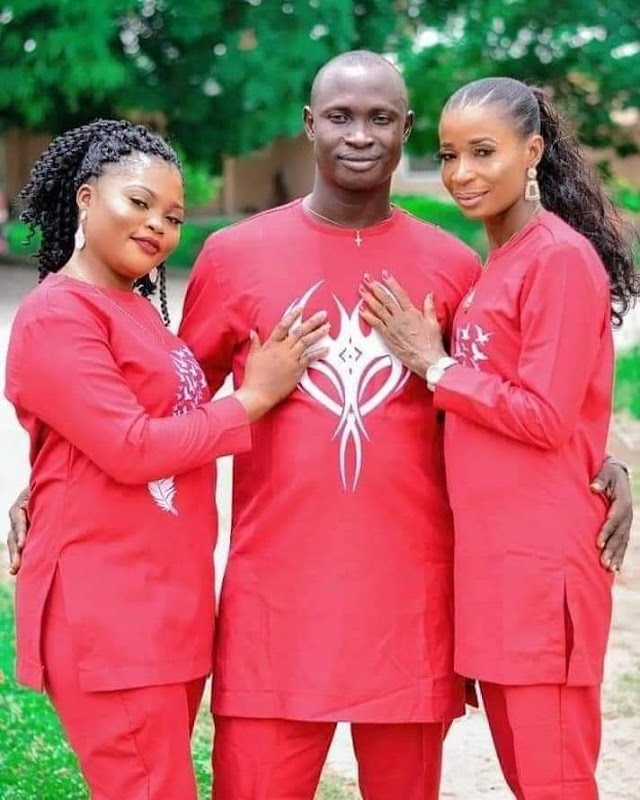 Pre-Wedding Photoshoot And Invitation Of Delta State Man Who Set To Wed Two Women On Same Day. PHOTOS