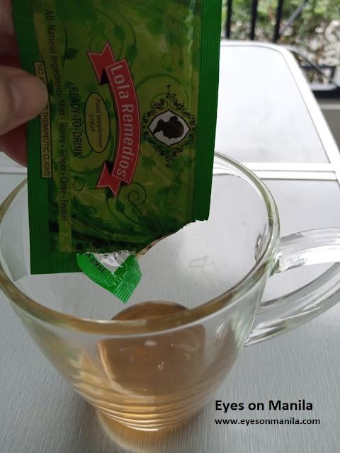 Lola Remedios in a glass