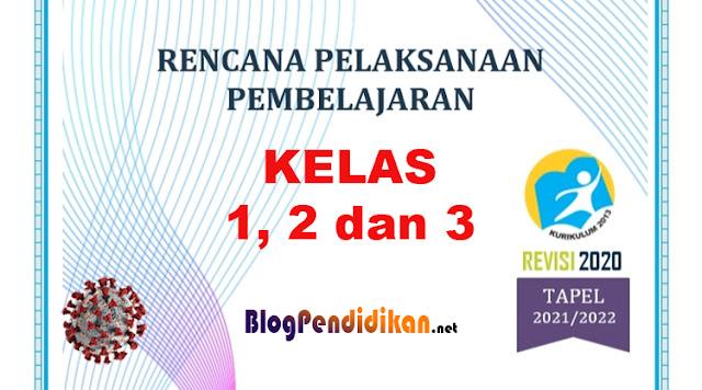 RPP Pembelajaran Tatap Muka Terbatas Untuk SD Kelas 1, 2, dan 3