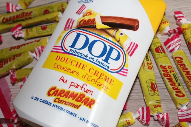 Douche Crème Douceurs d'Enfance au parfum Carambar Caramel - DOP