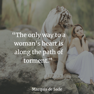 Top Marquis de Sade lustful Quotes