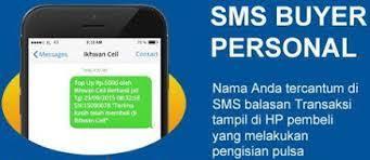 SMS Buyer Agen Pulsa Murah