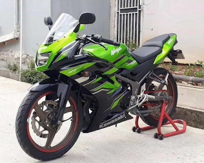 Modifikasi Simple Motor Ninja RR