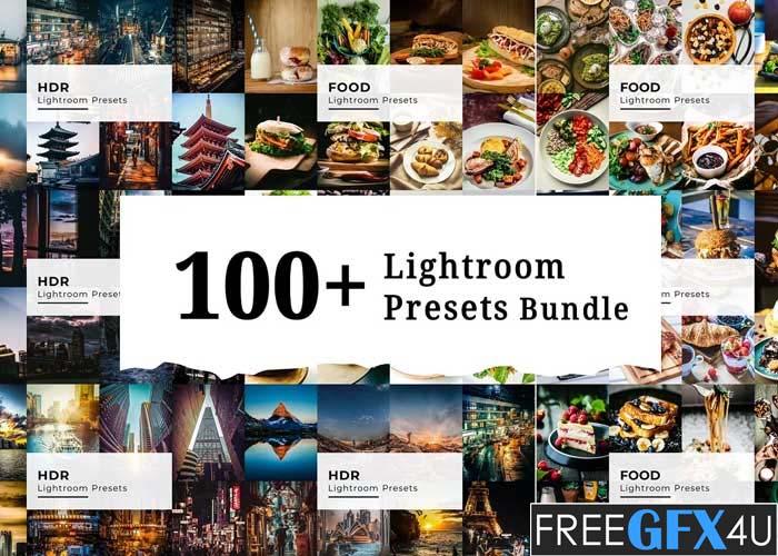 100 + Lightroom Presets Bundle