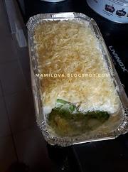 Kek Pandan Cheese Leleh Sedap