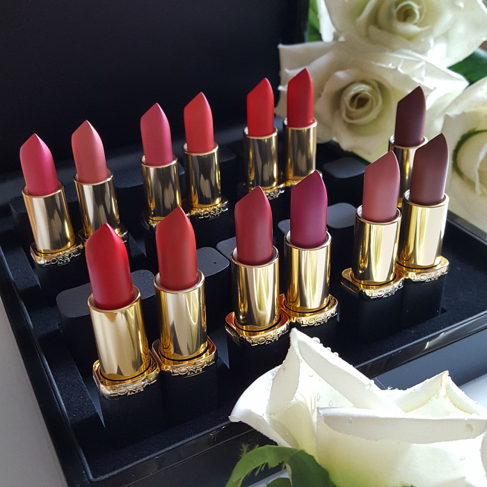 L´Oréal Paris - Color Riche Matte Addiction Lipstick / Lippenstift alle Farben / Sortiment Review Swatches