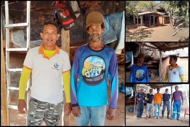 Repórter visita homem que vive isolado nas serras da Chapada Diamantina a 36 anos