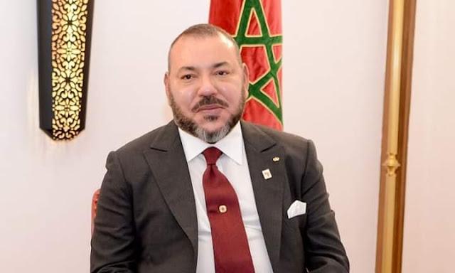 برقية تعزية ومواساة  من الملك محمد السادس نصره الله إلى أفراد أسرة المرحوم فاضل السقاط .