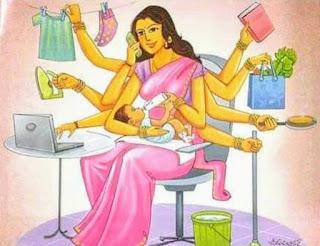 घरेलू महिलाओं का श्रम