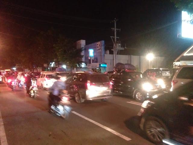 Hingga Malam Ini, Kendaraan Pemudik Masih Padati Kota Yogyakarta