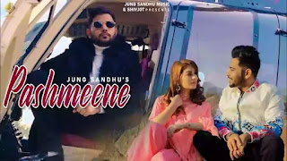 Checkout New Punjabi song Pashmeene Lyrics penned and sung by Jung Sandhu