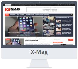 Mẫu X-Mag Blogger