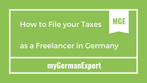 Filing your Taxes as a Freelancer in Germany