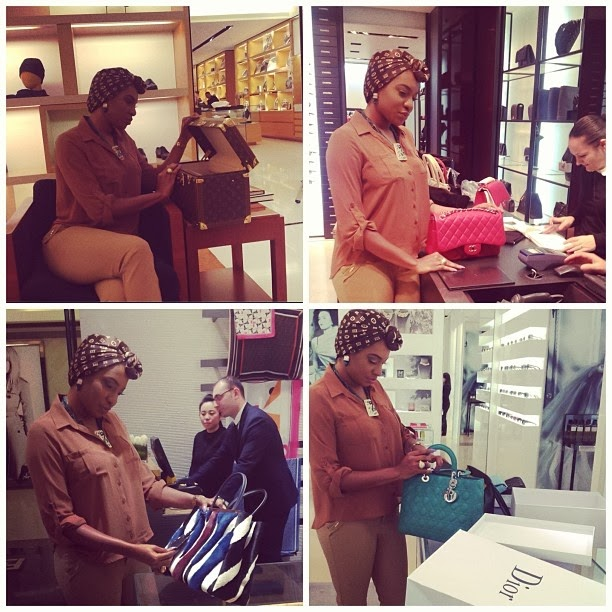 Chika Ike Spending and Enjoying Her Money In Abu Dhabi more photograph