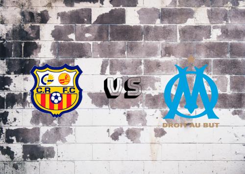 Canet Roussillon vs Olympique Marseille  Resumen